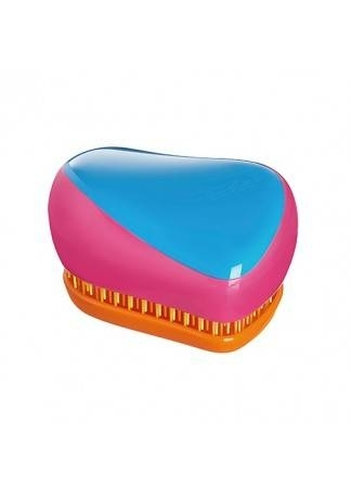 Tangle Teezer Расческа Tangle Teezer Compact Styler Bright Голубой/Розовый tangle teezer расческа tangle teezer compact styler bright голубой розовый