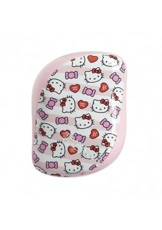 Tangle Teezer Расческа Compact Styler Hello Kitty Candy Stripes Розовый