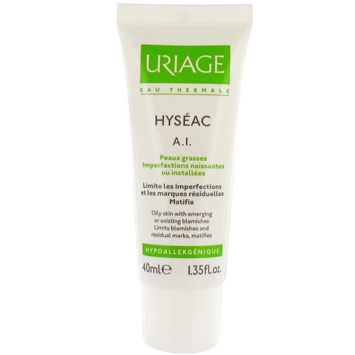 Uriage Уход Hyseac Против Воспаления для Жирной и Проблемной Кожи Лица Исеак A.I., 40 мл недорого