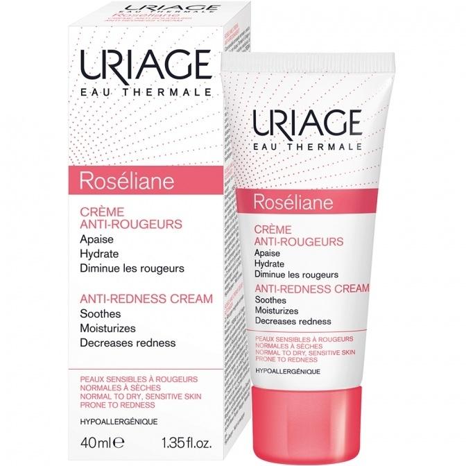 Uriage Крем Roseliane Против Покраснений Розельян, 40 мл крем урьяж розельян uriage roseliane