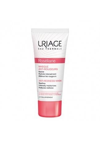 Uriage Маска Против Покраснений Розельян, 40 мл uriage roseliane anti redness cream spf30 крем против покраснений 40 мл