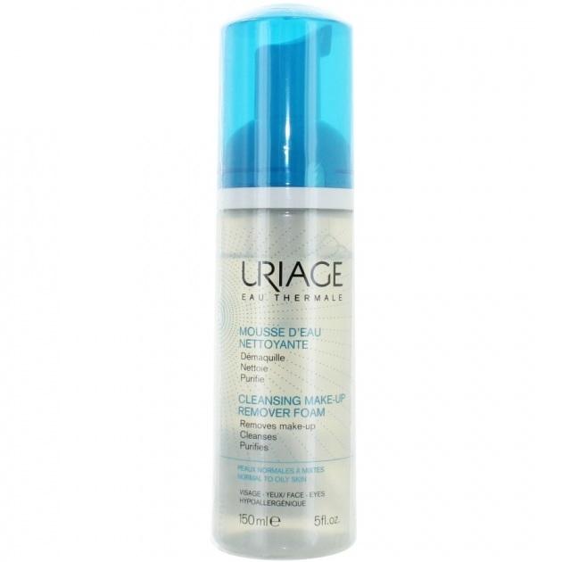 Uriage Мусс Cleansing Make-Up Remover Foam Очищающий Флакон, 150 мл gigi мусс очищающий тройная сила 140 мл