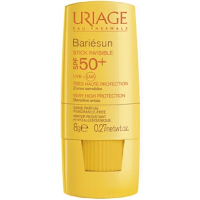 Uriage Стик Bariesun Невидимый для Чувствительных Зон Spf 50+ Барьесан, 8г