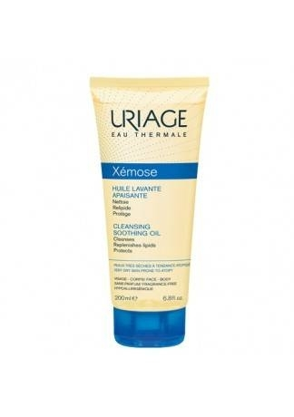 Uriage Масло Очищающее Успокаивающее Ксемоз Тюбик, 200 мл гель для интимной гигиены uriage gyn phy 200 мл успокаивающий