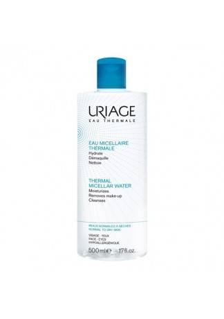 Uriage Очищающая Мицеллярная Вода для Сухой и  Нормальной Кожи, 500 мл очищающая мицеллярная вода для гиперчувствительной кожи 250 мл uriage гигиена uriage