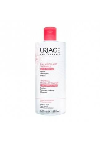 Uriage Очищающая Мицеллярная Вода без Ароматизаторов, 500 мл мицеллярная вода для лица uriage 250 мл очищающая без ароматизаторов