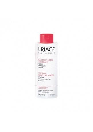 Uriage Очищающая Мицеллярная Вода для Чувствительной Кожи, 500 мл мицеллярная вода очищающая для чувствительной кожи 500 мл uriage гигиена uriage
