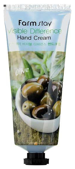 FarmStay Крем для Рук с Экстрактом Оливы Visible Difference Hand Cream Olive, 100г цена 2017