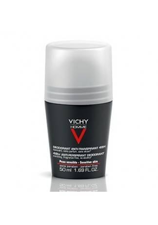 VICHY Дезодорант для Чувствительной Кожи Виши Ом, 50 мл дезодорант vichy цена