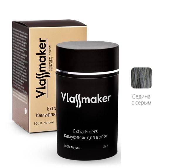 Vlassmaker Камуфляж Седина с Серым, 22г