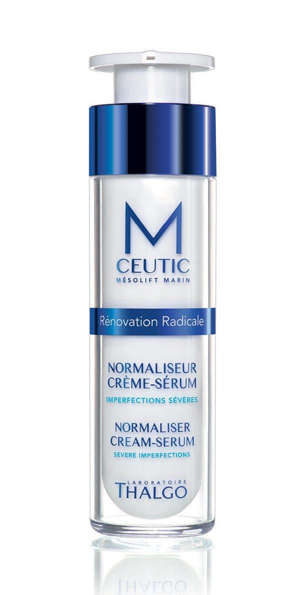 Thalgo Крем-сыворотка, нормализующая баланс кожи Normaliser Cream-Serum, 50 мл thalgo крем сыворотка востанавливающая текстуру кожи resurfacer cream serum 50 мл