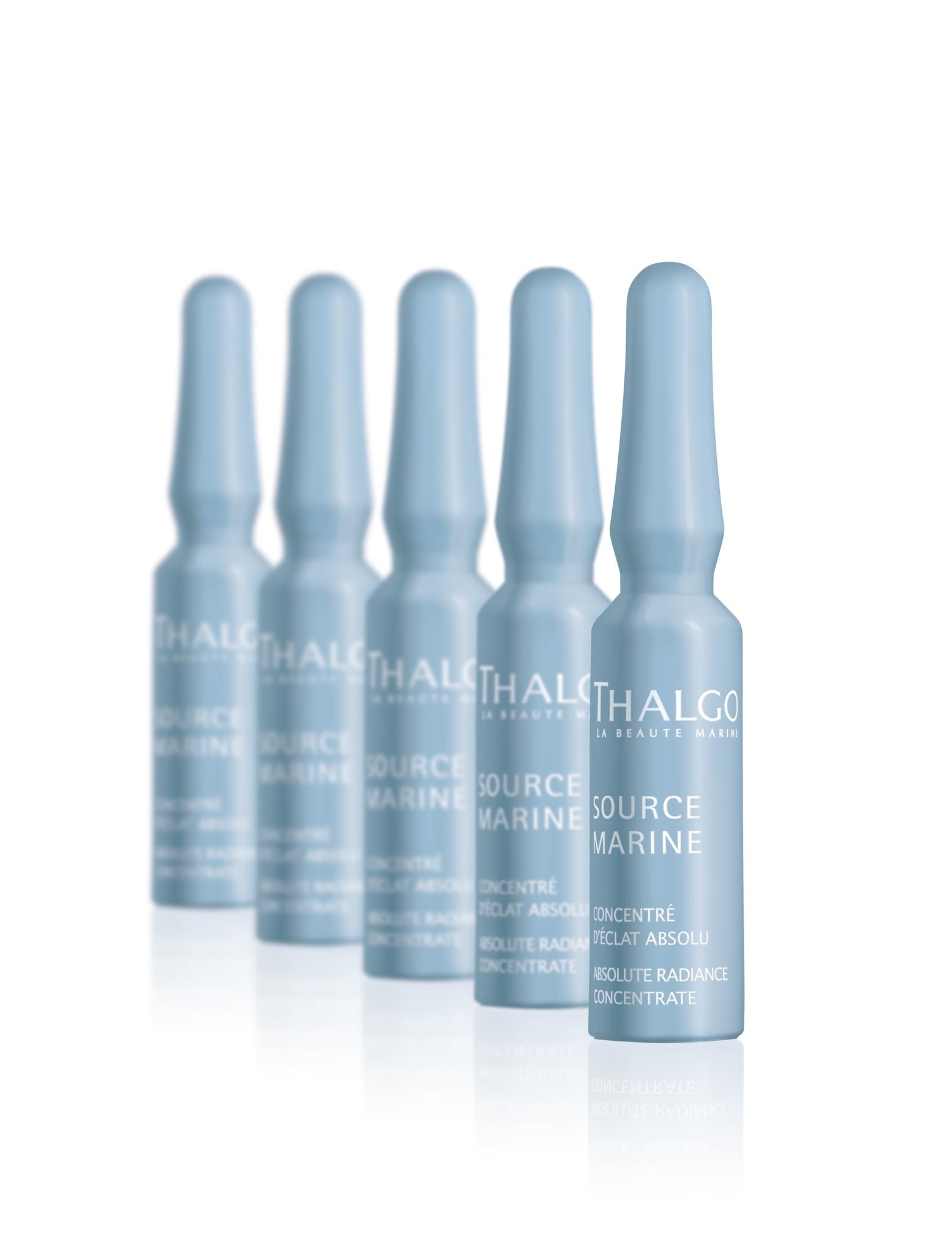Thalgo Интенсивный тонизирующий концентрат для сияния кожи с эффектом Absolute Radiance Concentrate, 7*1,2 мл все цены