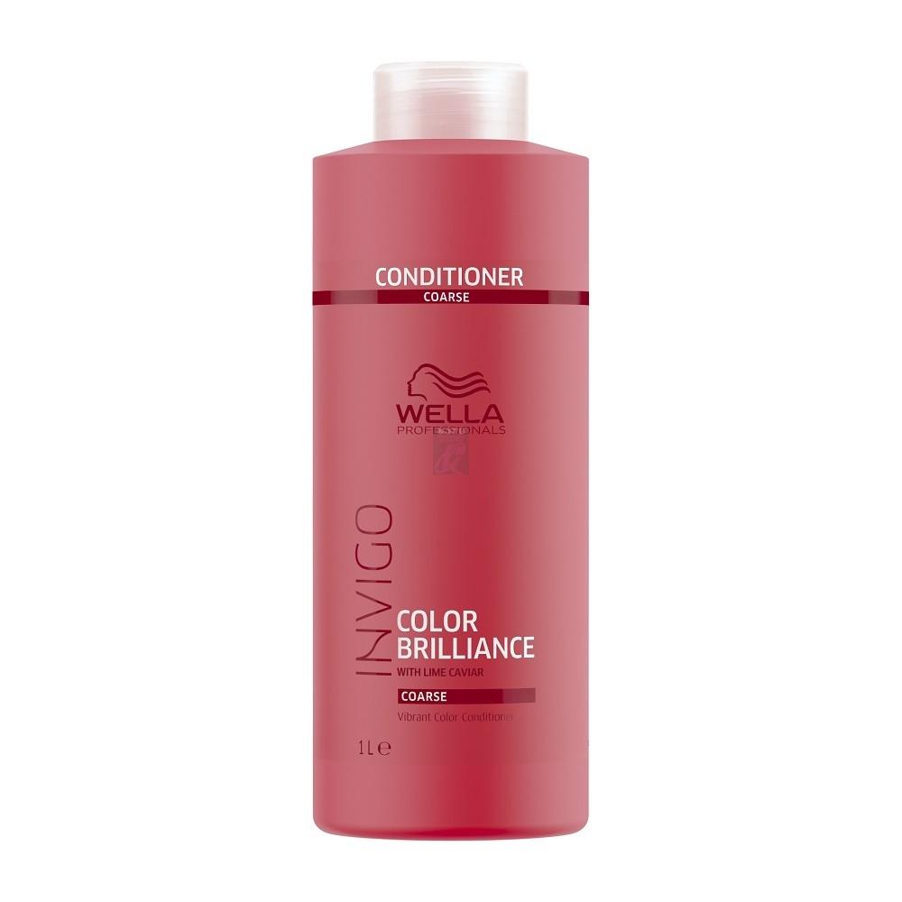 Wella Бальзам Invigo Brilliance для Окрашенных Жестких Волос, 1000 мл