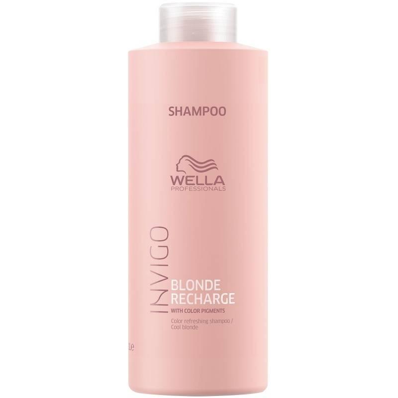 Wella Шампунь Invigo Blond Recharge для Освежения Цвета Светлых Волос, 1000 мл