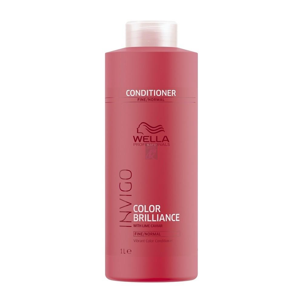 Wella Бальзам Invigo Brilliance для Окрашенных Нормальных и Тонких Волос, 1000 мл