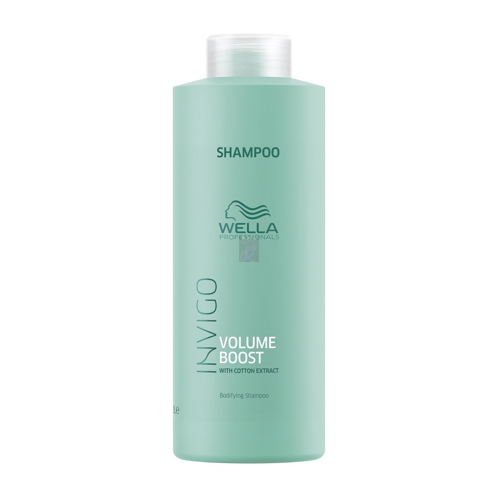 Wella Шампунь Invigo Volume Boost для Придания Объема, 1000 мл wella мусс уход invigo volume boost для придания объема 150 мл