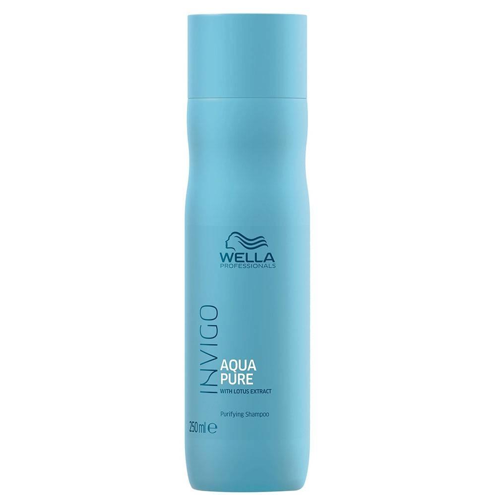 Wella Шампунь Invigo Aqua Pure Очищающий, 250 мл шампунь teana k3 сияющий ангел 250 мл