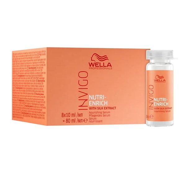 Wella Сыворотка Питательная для Волос Nutri Enrich, 8 Х 10 мл цены онлайн