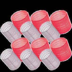 Wella Бигуди Big Roller (Velcro) Красные 65 мм, (6 шт/уп)