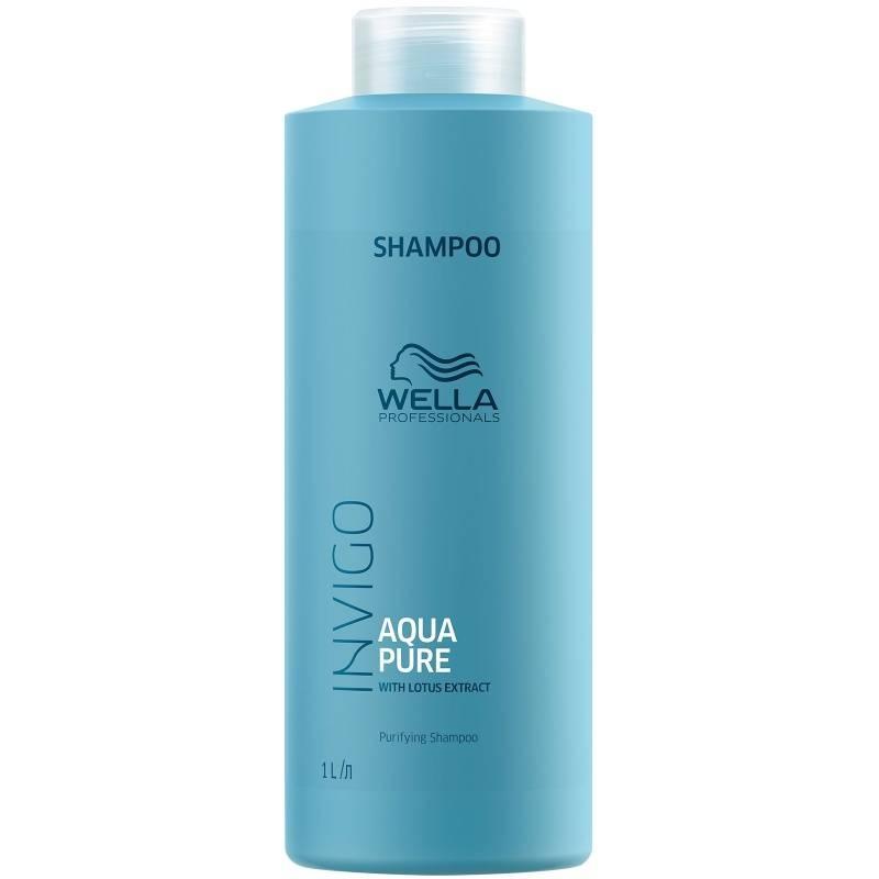 Wella Очищающий Шампунь Invigo Aqua Pure, 1000 мл