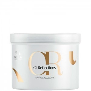 Wella Маска oil Reflections для Интенсивного Блеска Волос, 500 мл бальзам для интенсивного блеска волос 200 мл wella professional reflections oil