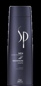цена на Wella Professional Шампунь Wella SP Men Maxximum Shampoo Максимум, 250 мл