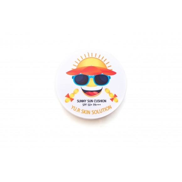 Yu.r Многофункциональное Солнцезащитное Средство Sunny Sun Cusion (Кушон), 25г солнцезащитное средство alba botanica