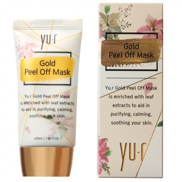 Y Маска-Пленка Золотая Gold Peel Off Mask, 50 мл
